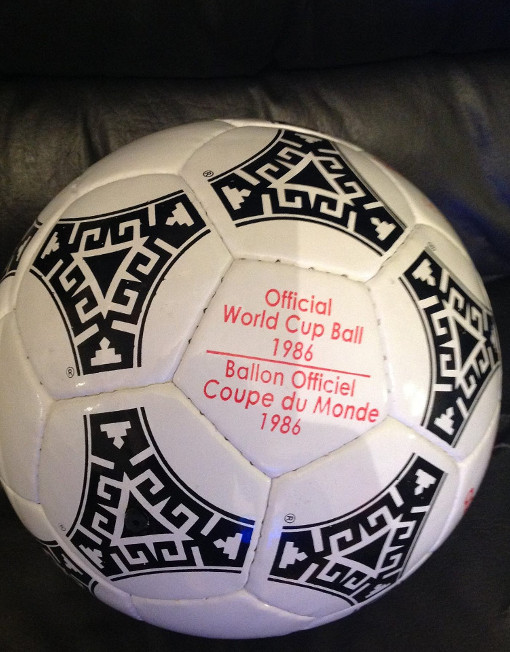 98535c07c91 Adidas Tango Azteca World Cup Mexico 1986 Soccer Ball Red Letters.  199