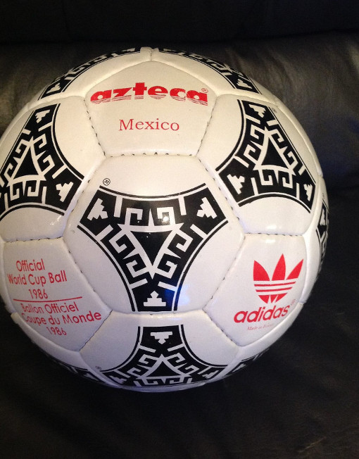 92ad873936d Adidas Tango Azteca World Cup Mexico 1986 Soccer Ball Red Letters