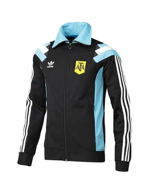 Adidas Retro Vintage Soccer Jacket Argentina World Cup 1978