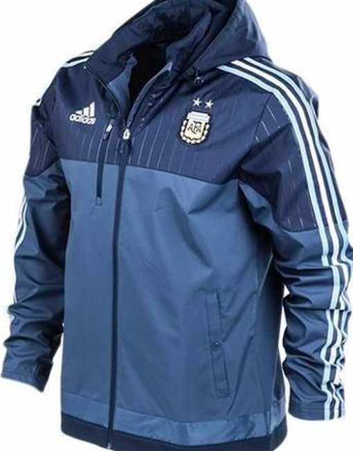 Original Adidas Soccer Jacket Argentina Travel