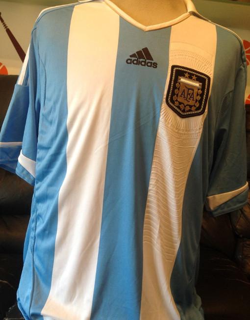 5be276084 Original Adidas Soccer Jersey Argentina Number 10 Messi