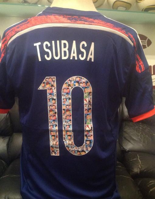 7165ac27b Adidas Soccer Jersey Japan Number 10 Tsubasa