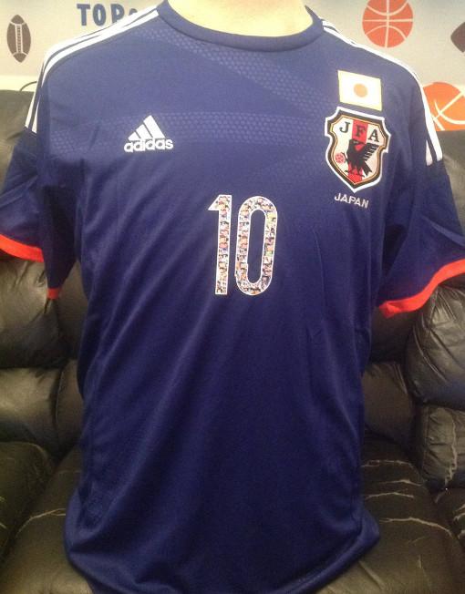 1b4e1921c2e Adidas Soccer Jersey Japan Number 10 Tsubasa