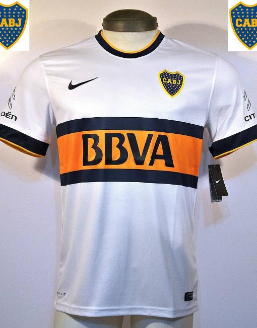 buy online 03078 46987 Nike Soccer Jersey Boca Juniors - Bbva - White
