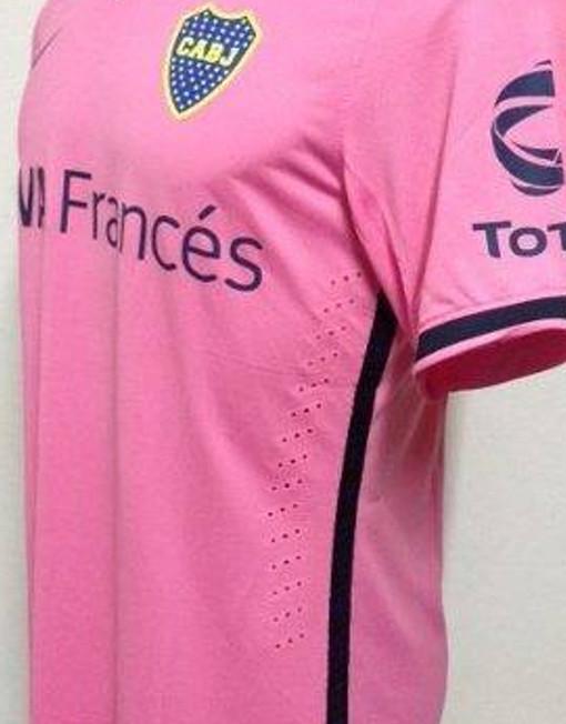 new concept 16d2e 87f35 Nike Soccer Jersey Boca Juniors - Pink