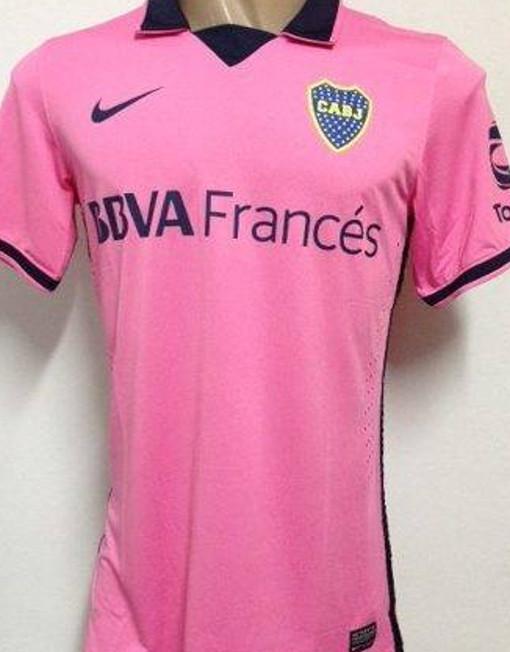 new concept 9237d b4162 Nike Soccer Jersey Boca Juniors - Pink