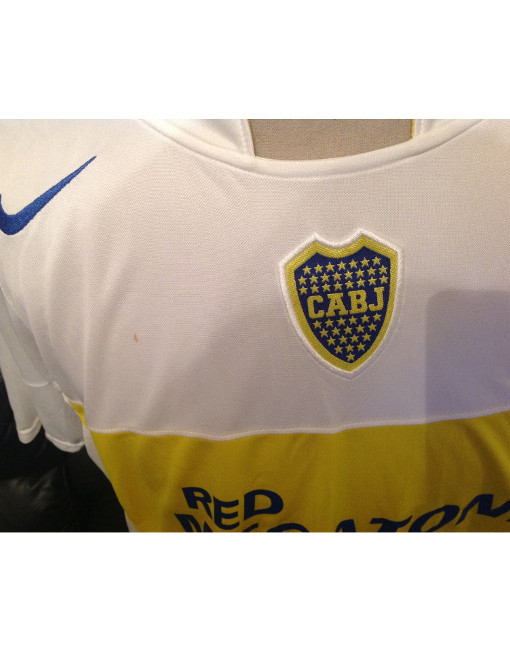 new arrival af8a0 a63d2 Nike Soccer Jersey Boca Juniors - Yellow - White