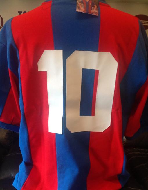 0c5bfb67d Retro Barcelona Soccer Jersey Maradona Number 10