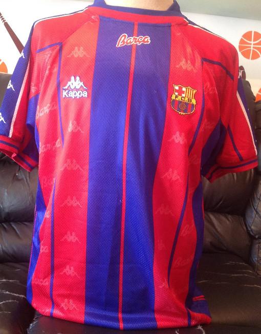 6bd7fc77bd8cd4 Kappa Soccer Jersey Barcelona Number 19 Pizzi