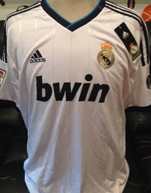 finest selection d2dac e4f45 Adidas Soccer Jersey Real Madrid 110 Years Number 20 Higuain