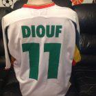 2b2f56f3c Le Coq Sportif Soccer Jersey Senegal Number 11 Diouf World Cup Korea Japan  2002.  139