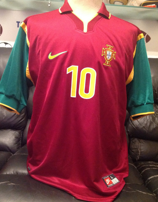 Nike Soccer Jersey Portugal Number 10 Rui Costa ee56156e9
