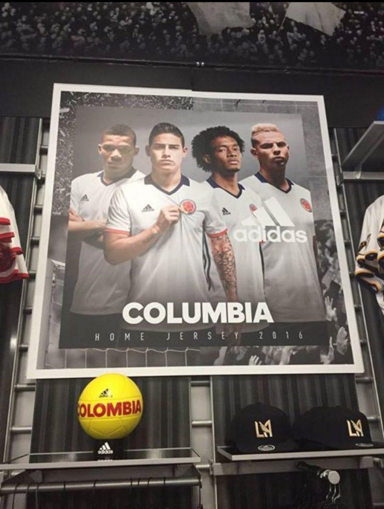 "Adidas Misspelling ""Colombia"""