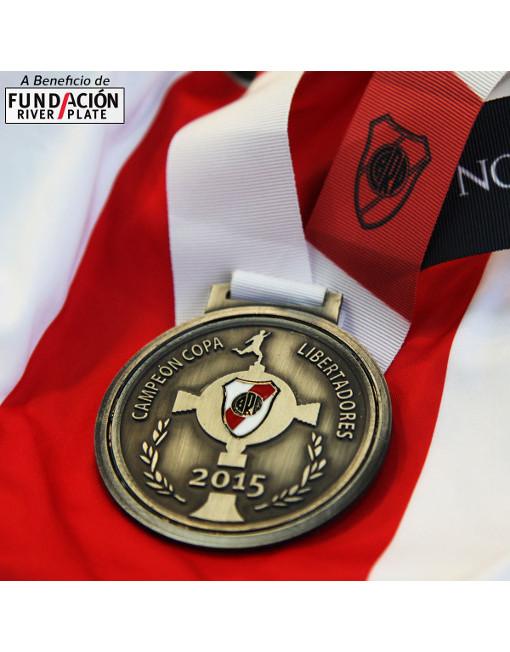River Medal Campeón Copa Libertadores 2015