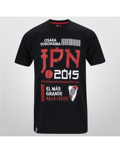 River Plate Shirt El Más Grande Allá Lejos Japón 2015
