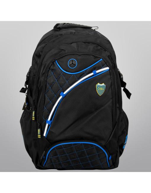 "Boca Juniors Backpack 19"" Premium"