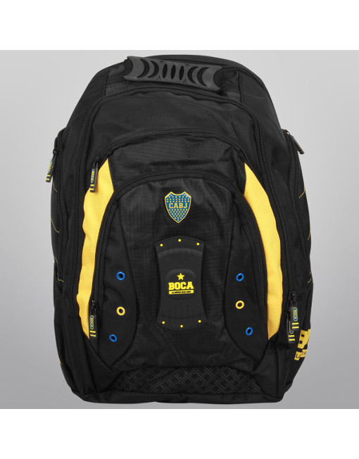 "Boca Juniors Backpack Porta Notebook Premium 19"" 3"