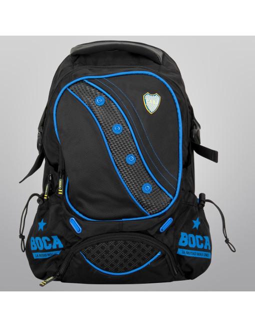 "Boca Juniors Backpack Porta Notebook Premium 19"" 4"
