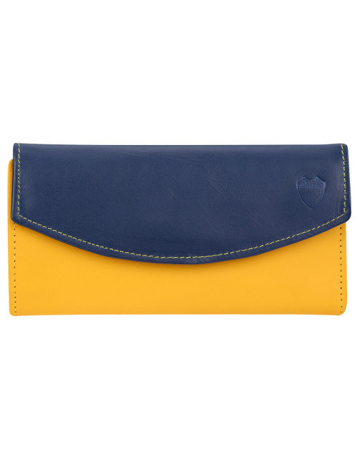 Leather Wallet Woman Boca Juniors