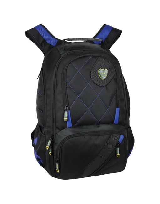 "Boca Juniors Backpack Porta Notebook Premium 19"" 2"