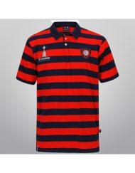 Polo Shirt San Lorenzo Striped - Blue