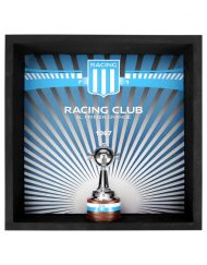 Cuadro con Copa Libertadores Racing Club