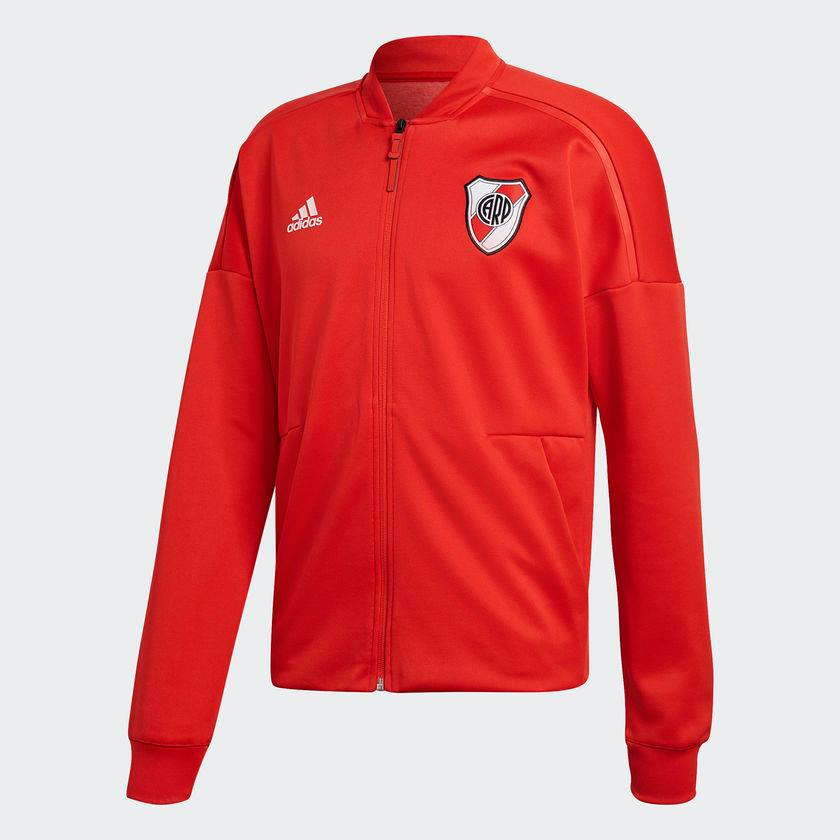 e03be7ab3 Adidas Original Soccer Jacket River Plate Red   Football Relics