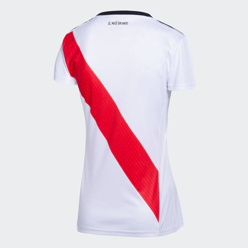 promo code 720b9 bc8ef Adidas original soccer jersey women River Plate